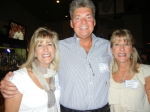 Kelly Bliss(Sartell), Jay Johnson, and Karen Davis (Sartell) at the NE Yacht Club - Pre-reunion gathering